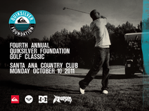 4th Annual Quiksilver Foundation Golf Classic